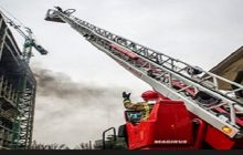۲۰ نردبان و بالابر آتشنشانی در گمرک خاک می خورد