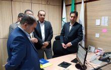 بازدید عضو شورای شهر از شرکت واحد اتوبوسرانی در هفته کارگر