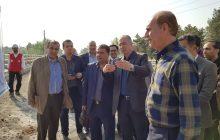 بازدید مجید فراهانی از پروژه های در حال تکمیل پایتخت