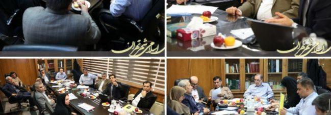 نشست مشترک کمیسیون برنامه و بودجه با شهردار تهران